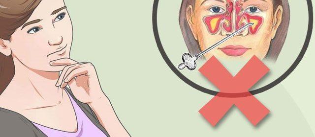 Лікування гаймориту в домашніх умовах у дорослих швидко