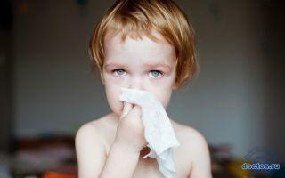 Соплі з кров'ю у дитини при нежиті: чому і що робити?