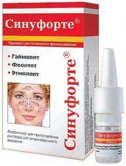 «Синуфорте»: інструкція із застосування крапель і спрею в ніс від гаймориту, аналоги
