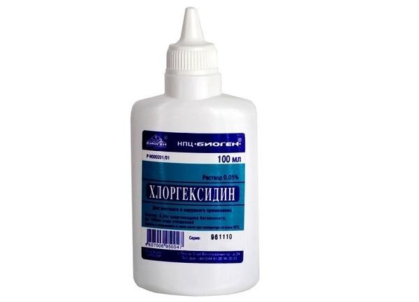 Хлоргексидин при молочниці у жінок