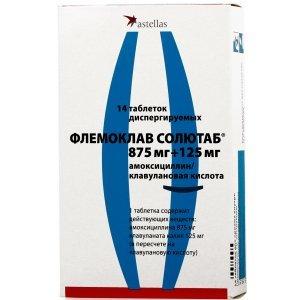 «Флемоклав Солютаб»: інструкція із застосування антибіотика, протипоказання і аналоги