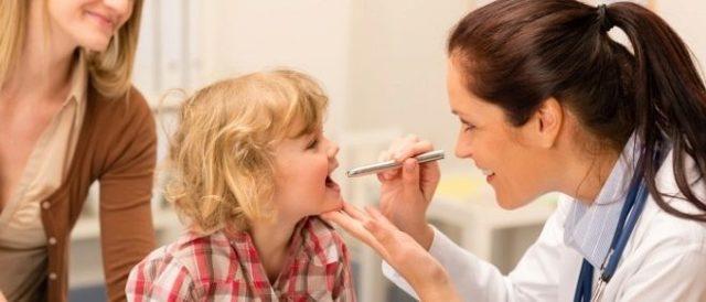 Ангіна у дітей: симптоми і лікування в домашніх умовах