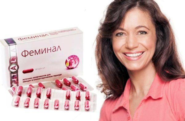 Препарат Фемінал при клімаксі