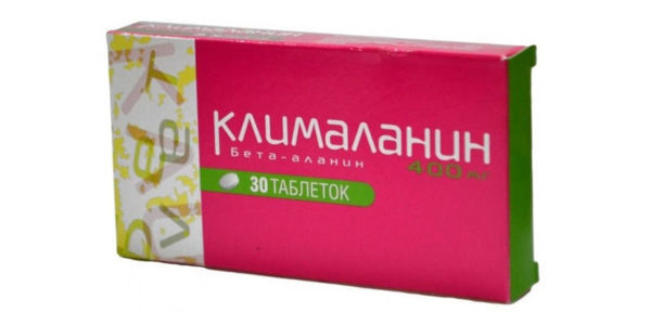 Таблетки Клімаланін від клімаксу