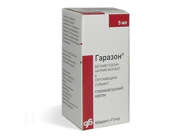 «Гаразон», вушні краплі: інструкція із застосування, дозування і протипоказання
