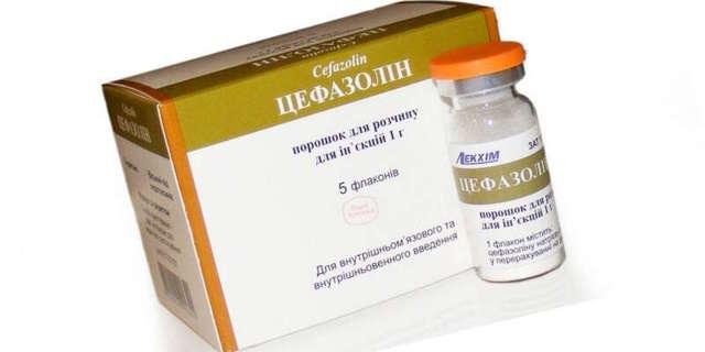 «Цефазолін»: інструкція із застосування уколів, як розводити і дозування