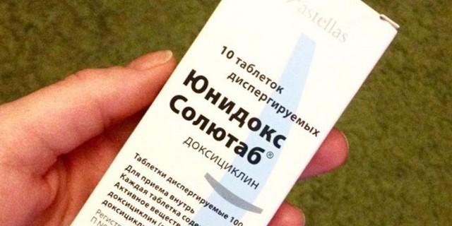 «Юнідокс Солютаб»: інструкція із застосування антибіотика, побічні дії і аналоги