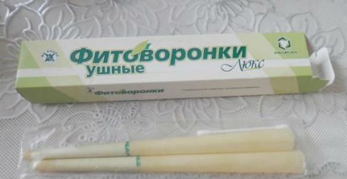 Свічки для вух від пробок: різновиди, у вигляді паличок і воронок