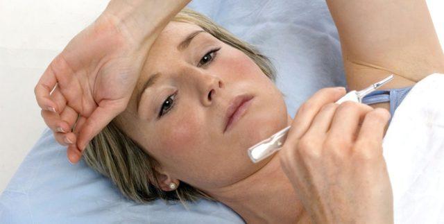 Температура при молочниці у жінок