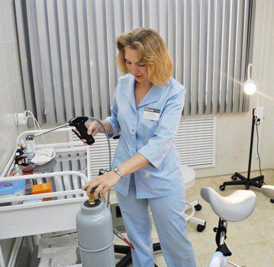 Методи лікування ерозії шийки матки
