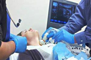 Вузлове утворення правої або лівої частки щитовидної залози